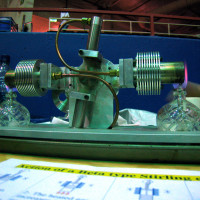 dual beta stirling engine